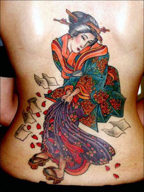 tattoo geisha back back tattoo geisha big 171 on back 171 tatto on body 171 tattoo