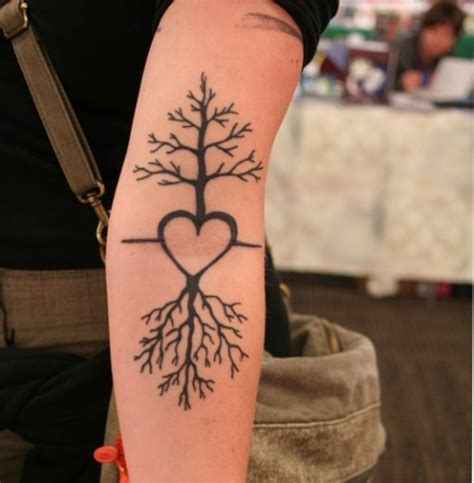 couples tree tattoos 25 designs for valentines day cssclick