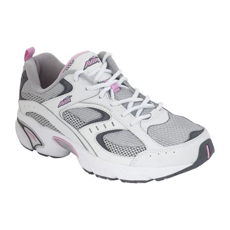 avia s 5018 running shoe white gray pink shop