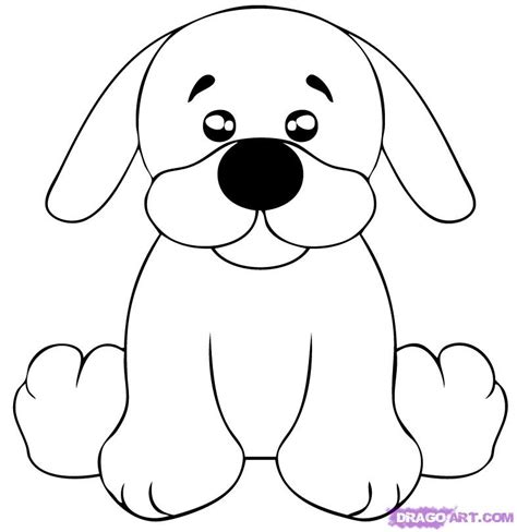 puppy sketch how to draw a puppy step by step webkinz draw characters free