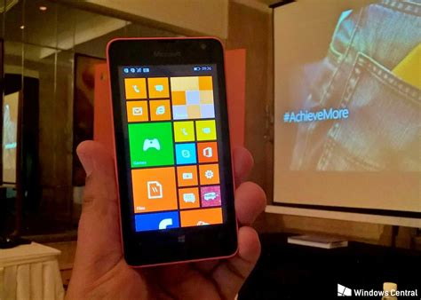 Hp Nokia Lumia Microsoft 430 microsoft launches the lumia 430 in india for inr 5 299