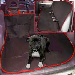 Backseat Car Covers For Dogs 2 In 1 Waterproof Car Rear Back Seat Cover Pet