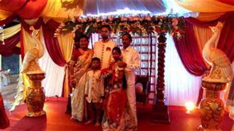 indian wedding swing vina canopy decor
