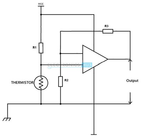 ntc thermistor linearization circuit types of temperature sensor thermocouple and thermistors
