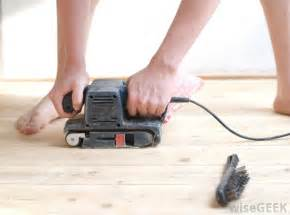 what is involved in floor sanding with pictures