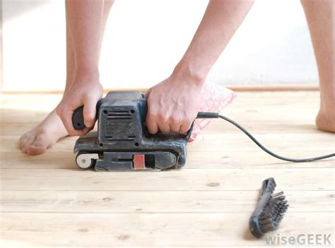 sanding hardwood floors with belt sander what is involved in floor sanding with pictures