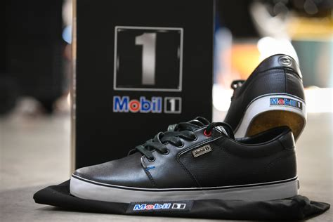 sports edition shoes mobil 1 and dvs shoes team up for a limited edition shoe