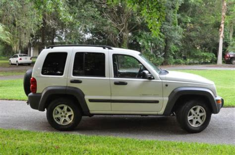 how to sell used cars 2003 jeep liberty parental controls sell used 2003 jeep liberty sport 3 7l 4wd in gainesville florida united states for us 3 120 00