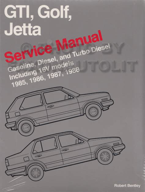 manual repair autos 1985 volkswagen jetta auto manual 1985 1988 vw gti golf and jetta bentley repair shop manual