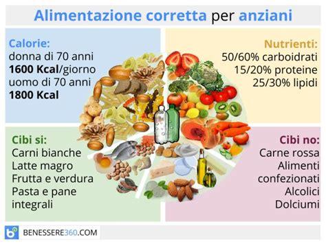 alimentazione anziano alimentazione per anziani dieta e cibi consigliati