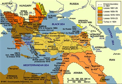 the ottoman empire was founded by tribes in anatolia maps of nations during the consolidation of nation states