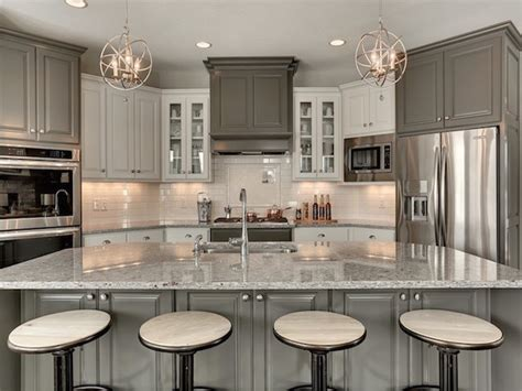 moon white granite kitchen countertop design ideas