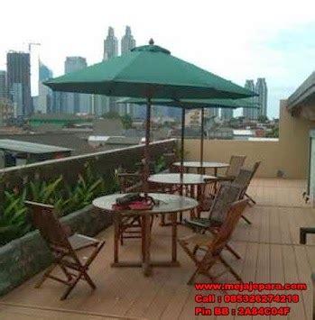 Produksi Meja Kursi Payung Taman Cafe Hotel Resto Villa Kantor Teras meja payung
