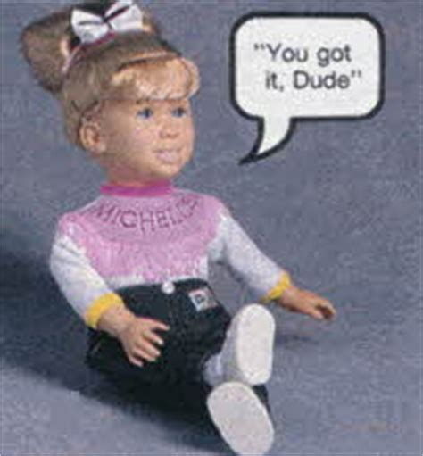 michelle full house doll 1991 popular boys and girls toys from the nineties including super nintendo and lil