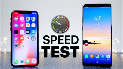 iphone   samsung galaxy note  speed test quel est le