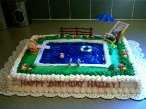 Pool Cake Decorations by Any Swimming Pool Cakes Out There Cakecentral