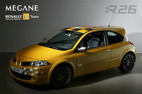 renault megane sport 2006 renault m 233 gane ii renault sport f1 team r26 2006