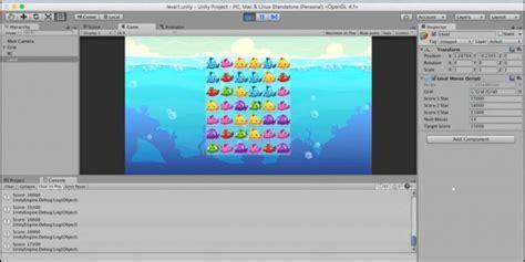 membuat game unity 3d kursus unity 3d membuat game seperti candy crush saga