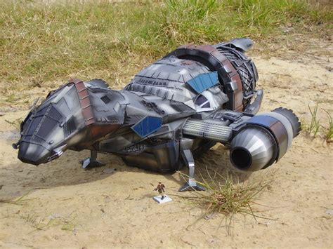 Firefly Papercraft - firefly spaceship serenity v3 paper model po archives