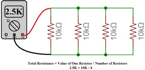 four 20 ohm resistors are connected in parallel what is the total resistance of the circuit series and parallel circuits learn sparkfun
