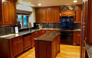 cherry wood kitchen island stylish kitchen cabinets in cherry the best creation of