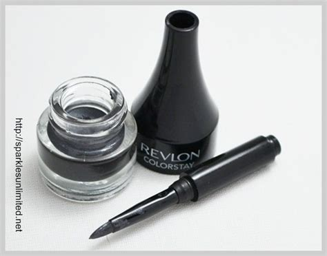 Eyeliner Gel Revlon brown wear gel eyeliner swatches diy makeup ideas