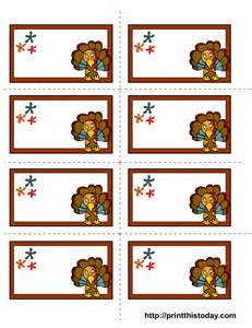 thanksgiving names 6 best images of thanksgiving printable name tags free