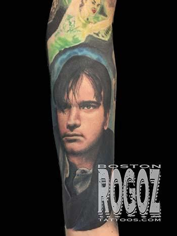 ewan mcgregor tattoo ewan mcgregor portrait by boston rogoz tattoonow