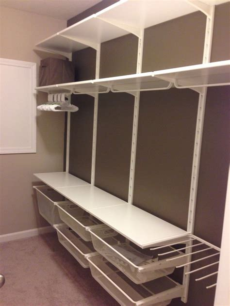 ikea closet shelves nursery closet ikea algot system walk in wardrobe ideas pinterest ikea wall brackets and