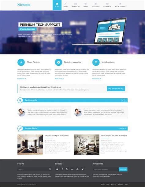 kopatheme layout manager free wordpress theme nictitate free doteasy wordpress