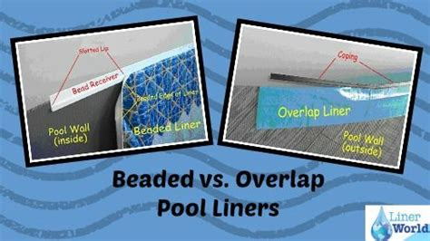 beaded pool liner installation pin by linerworld on swimming pool resources