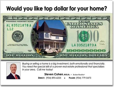 custimazable templates for post cards real estate real estate money postcards marketing postcard