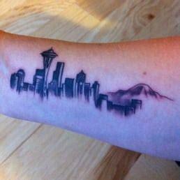 hidden hand tattoo yelp my first tattoo seattle skyline by marco yelp