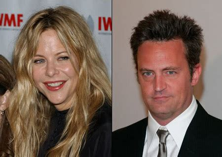 Meg And Matthew Perry In New by Friends Matthew Perry Is The Actor Dating Someone