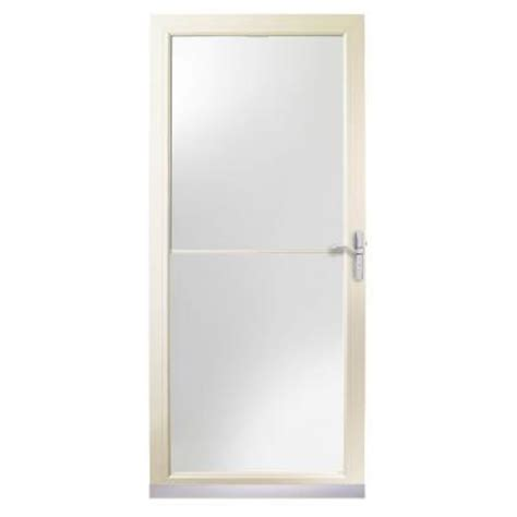 Home Depot Andersen Door by 3000 Series 32 In Almond Self Storing Door