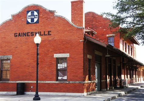 gainesville tx official website santa fe depot