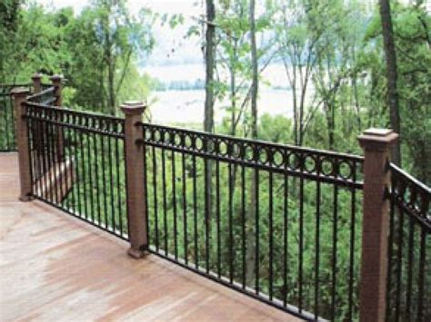 outdoor wooden stairs giving unique warm look to modern decor exterior wrought iron railing design ideas with