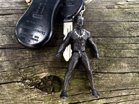 Lego 853592 Black Widow Civil Warkey Chain marvel king t challa the black panther captain
