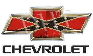 confederate flag chevy bowtie car interior design