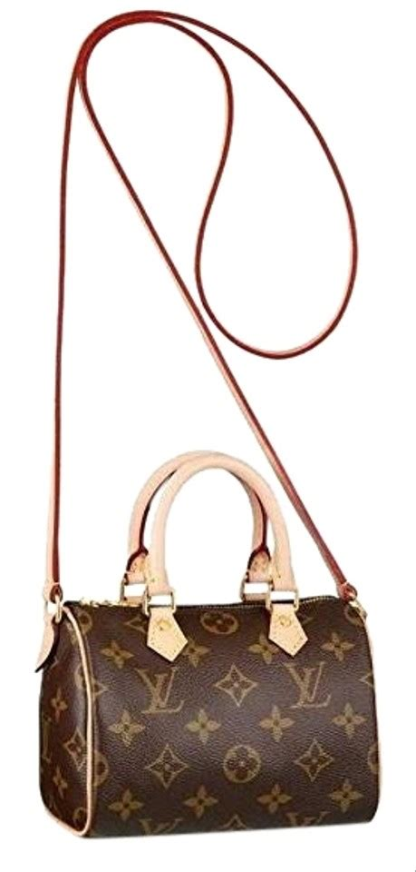 louis vuitton speedy nano full set   monogram