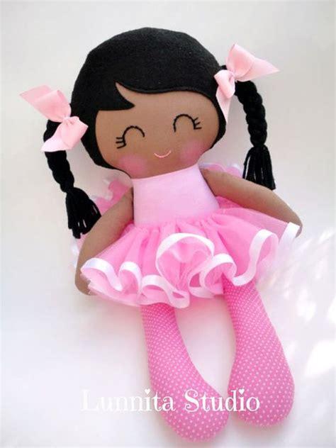 doll handmade ballerina doll handmade cloth dollgirl by lunnitastudio on