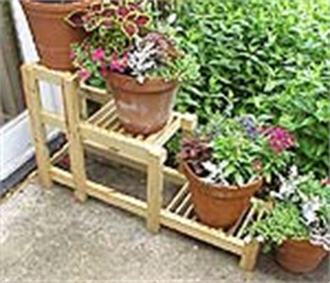 Basic Ripped Bunga tiered plant stand newwoodworker llc