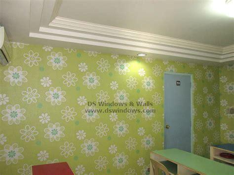 wallpaper design manila floral green vinyl wallpaper decor for children academic