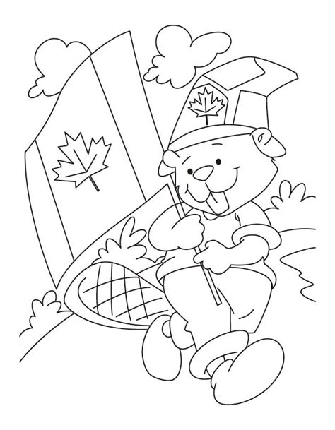 printable canadian flag coloring home
