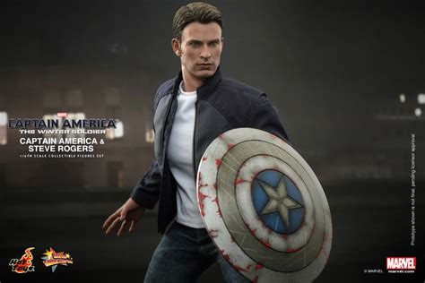 16 Scale Steve Roger Captain America Sculpt captain america the winter soldier captain america steve rogers figure set