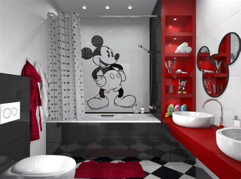 mickey mouse bathroom decor just go
