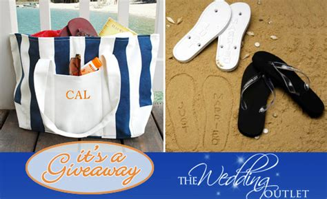 Sandals Honeymoon Giveaway - the wedding outlet giveaway honeymoon tote sandals gift certificate