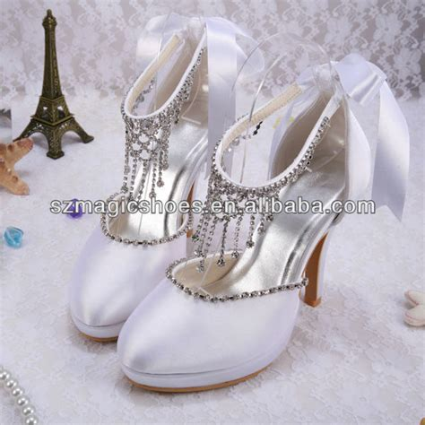 Jeweled Wedding Shoes by Brand Name Chagne Color Jeweled Wedding Shoes Buy