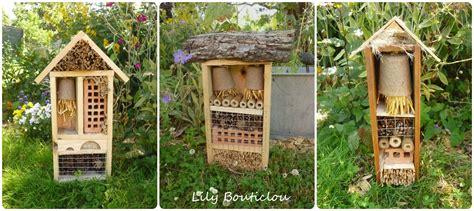 Abri En Bois 2677 by Hotel 224 Insectes Jardin Recup Bouticlou Nichoirs