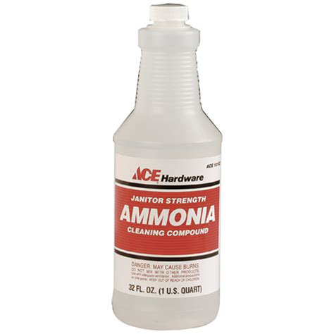 ace 1qt ammonia 10183a industrial cleaners ace hardware